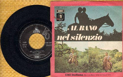 Bano, Al - Il Suo Volto, Il Suo Sorriso/Nel Silencio (Italian Pressing, sung in Italian, with picture sleeve) (wos) - EX8/VG6 - 45 rpm Records