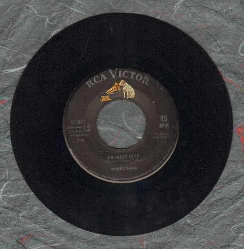 Bare, Bobby - Detroit City/Heart Of Ice - EX8/ - 45 rpm Records