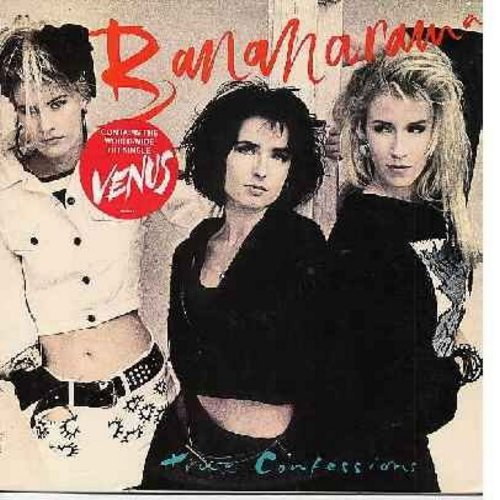Bananarama - True Confessions: Venus, Ready Or Not, A Perfect World, Do Not Disturb, Hooked On Love (vinyl STEREO LP record) - M10/NM9 - LP Records