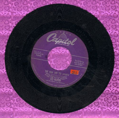 Baxter, Les & His Orchestra & Chorus - The High And The Mighty/More Love Than Your Love  - VG6/ - 45 rpm Records