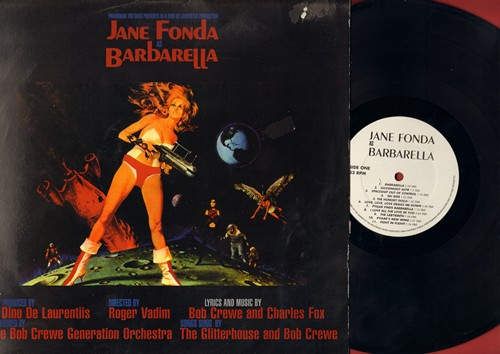 Barbarella - Barbaraella - Original Sound Track of the 1968 Cult Classic starring Jane Fonda, Lyrics and Music by Bob Crewe and Charles Fox (vinyl LP record, re-issue of vintage recordings) - NM9/VG7 - LP Records