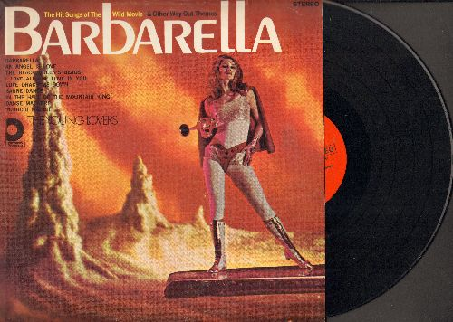 Young Lovers - Barbarella & Other Way Out Themes: Sabre Dance, In The Hall Of The Mountain King, The Black Queen's Beads (vinyl STEREO LP record) - NM9/EX8 - LP Records
