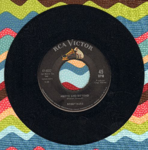 Bare, Bobby - Above And Beyond/Shame On Me - EX8/ - 45 rpm Records