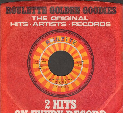 Barretto, Ray - El Watusi/African Waltz (by Johnny Dankworth & His Orchestra on flip-side) (authentic-looking re-issue with Roulette company sleeve) - M10/ - 45 rpm Records