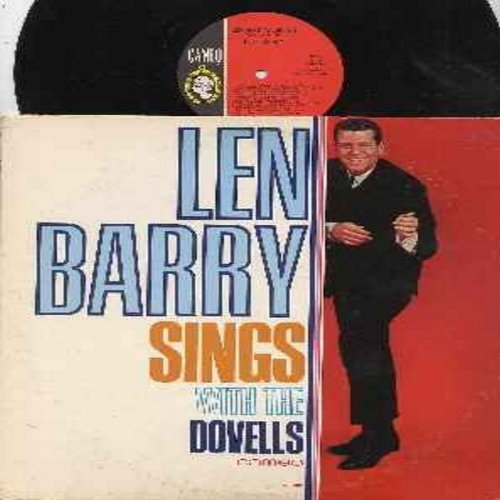 Barry, Len - Len Barry Sings With The Dovells: Hearts Are Trump, Save Me Baby, Bristol Stomp, Jim Dandy, Betty In Bermudas, You Can't Sit Down (vinyl MONO LP record, DJ advance copy) - M10/EX8 - LP Records