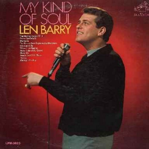 Barry, Len - My Kind Of Soul: Rach Out I'll Be There, Mickey's Monkey, The Hunter Gets Captured By The Game, Our Love, Sweet Soul Music, Human (vinyl MONO LP record) - M10/EX8 - LP Records