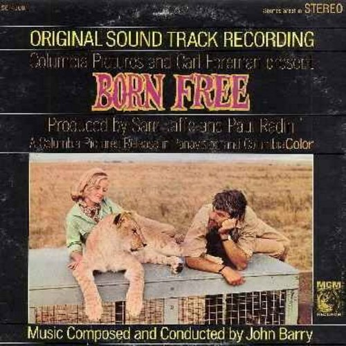 Barry, John - Born Free - Original Motion Picture Sound Track, Music Composed and Conducted by John Barry (vinyl STEREO LP record) - EX8/EX8 - LP Records