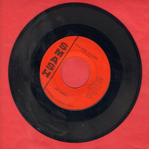 Barry, Joe - I'm A Fool To Care/I Got A Feeling  - EX8/ - 45 rpm Records
