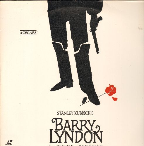 Barry Lyndon - Stanley Krubicks's Barry Lyndon Double Laser Disc - NM9/EX8 - Laser Discs