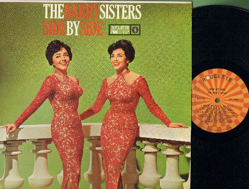 Barry Sisters - Side By Side: Around The World, Cry Me A River, Come Prima, Misty, Fascination, Who's Sorry Now, Ciao Ciao Bambia, Autumn Leaves (vinyl MONO LP record) - NM9/NM9 - LP Records