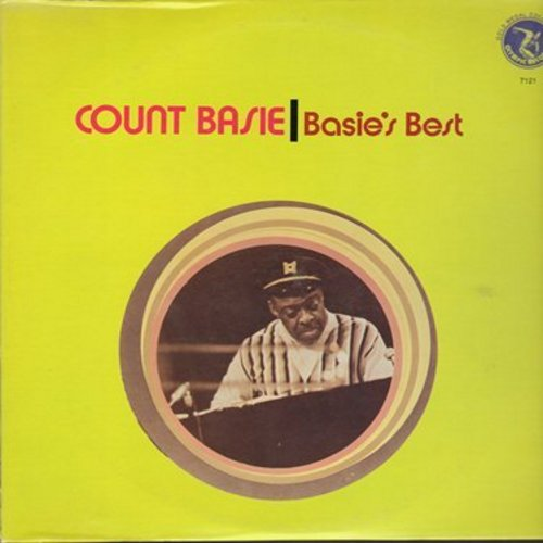 Basie, Count & His Orchestra - The Best Of Basie: (Emus), Jumpin' At The Woodside, Jive At Five, Boogie Woogie, Swingin' The Blues (vinyl STEREO LP record, re-issue) - M10/NM9 - LP Records