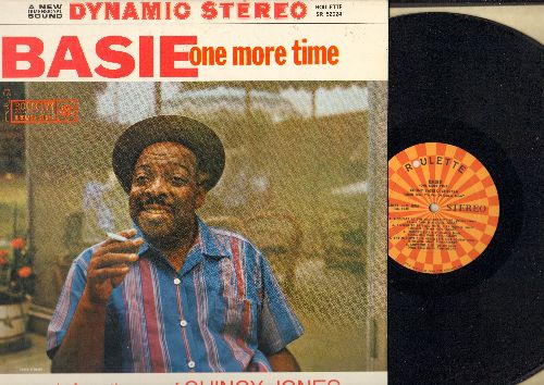 Basie, Count & His Orchestra - Basie One More Time: Rat Race, Quince, The Big Walk, A Square At The Roundtable, Muttnik (vinyl STEREO LP record) - NM9/NM9 - LP Records
