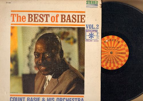 Basie, Count & His Orchestra - Best Of Basie Vol. 2: Braodway, Texas Shuffle, Doggin' Around, Time Out, Topsy (vinyl STEREO LP record) - VG7/VG7 - LP Records