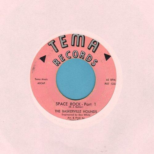 Baskerville Hounds - Space Rock (Parts 1 + 2) (wol) - VG7/ - 45 rpm Records