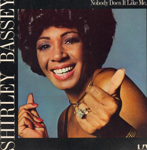 Bassey, Shirley - Nobody Does It Like Me: You Are The Sunshine Of My Life, Morning In Your Eyes, I'm Nothing Without You (vinyl STEREO LP record) - NM9/EX8 - LP Records