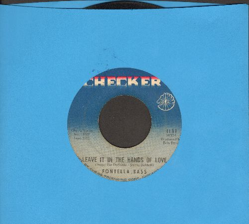 Bass, Fontella - Leave It In The Hands Of Love/Recovery  - VG7/ - 45 rpm Records