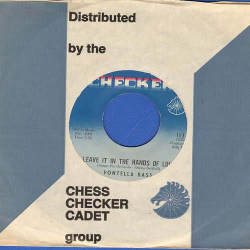 Bass, Fontella - Leave It In The Hands Of Love/Recovery (with Checker company sleeve) - NM9/ - 45 rpm Records