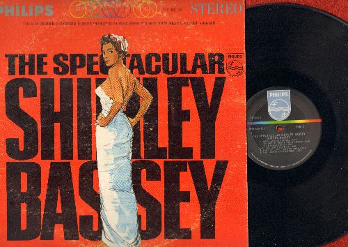 Bassey, Shirley - The Spectacular Shirley Bassey: My Funny Valentine, The Wayward Wind, Puh-Lease! Mister Brown (vinyl STEREO LP record) - NM9/VG7 - LP Records