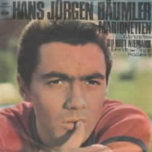 Baumler, Hans Jurgen - Marionetten (German pressing with picture sleeve, sung in German)  (Hans Jurgen Baumler was one of Germany's most popular Film & TV Personalities of the 1960s & early 70s) - NM9/EX8 - 45 rpm Records