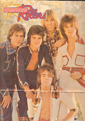 Bay City Rollers - Wouldn't You Like It: I Only Wanna Dance With You, Give A Little Love, Here Comes That Feeling Again (vinyl STEREO LP record, German Pressing, gate-fold cover) - NM9/VG7 - LP Records