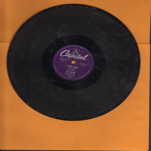 Baxter, Les & Orchestra & Chorus - I Love Paris/Gigi (10 inch 78 rpm record) - VG7/ - 78 rpm