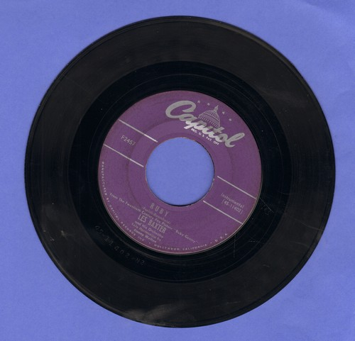 Baxter, Les & His Orchestra - Ruby/A Little Love - EX8/ - 45 rpm Records