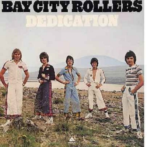 Bay City Rollers - Dedication: I Only Want To Be With You, Yesterday's Hero, Don't Worry Baby, Rock 'N Roller (vinyl LP record, gate-fold cover) - NM9/EX8 - LP Records