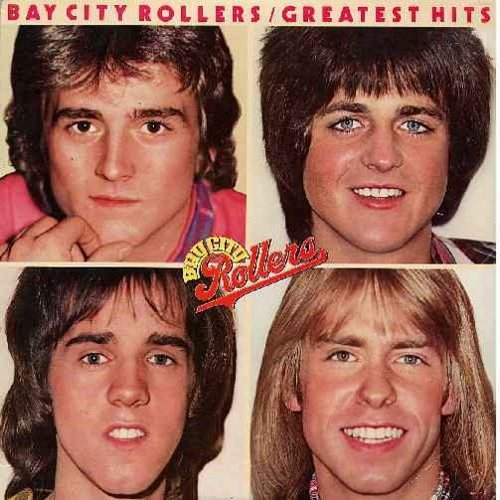 Bay City Rollers - Greatest Hits: I Only Want To Be With You, Saturday Night, You Made Me Believe In Magic, Rock And Roll Love Letter, Money Honey (vinyl LP record) - EX8/VG7 - LP Records