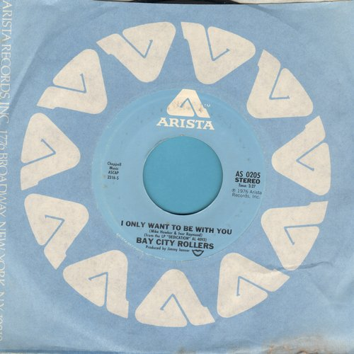 Bay City Rollers - I Only Wanna Be With You/Write A Letter  - NM9/ - 45 rpm Records