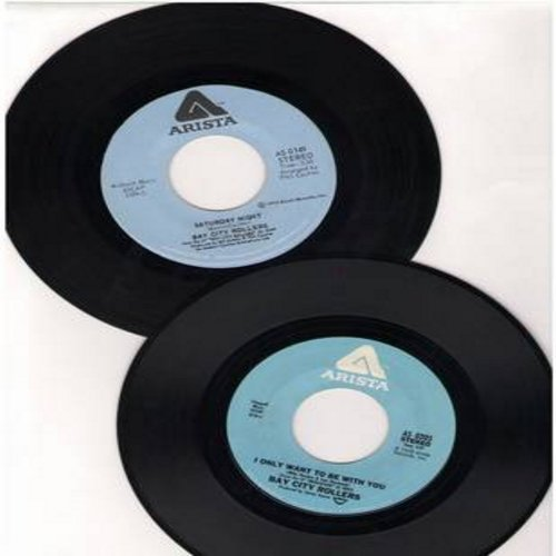 Bay City Rollers - 2 for 1 Special: Saturday Night/I Only Want To Be With You (2 vintage first issue 45rpm records for the price of 1!) - EX8/ - 45 rpm Records
