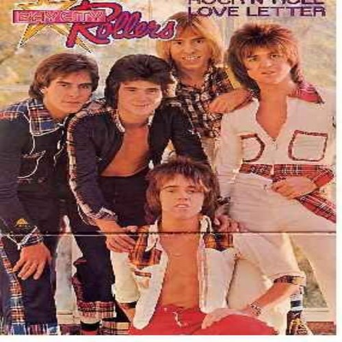Bay City Rollers - Rock N' Roll Love Letter: I Only Wanna Be With You, Money Honey, Don't Stop The Music, Too Young To Rock & Roll (vinyl MONO LP record, gate-fold cover) - NM9/EX8 - LP Records