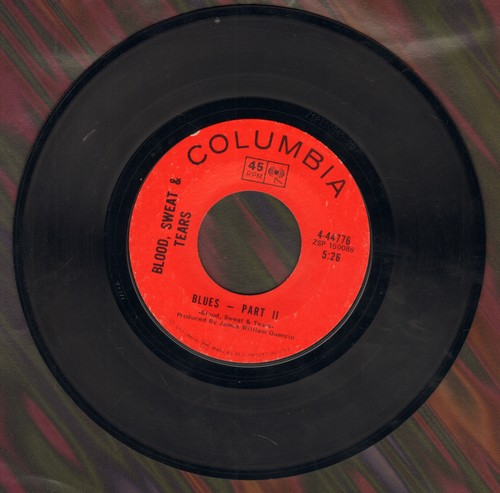 Blood, Sweat & Tears - You've Made Me So Very Happy/Blues - Part II (RARE alternate B-side!) - EX8/ - 45 rpm Records