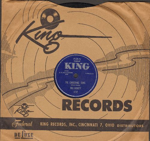Doggett, Bill - The Christmas Song/Winter Wonderland (10 inch 78 rpm record with King company sleeve) - NM9/ - 78 rpm