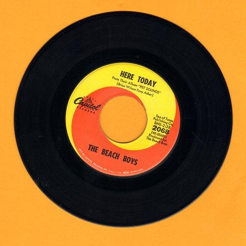 Beach Boys - Here Today/Darlin'  - NM9/ - 45 rpm Records
