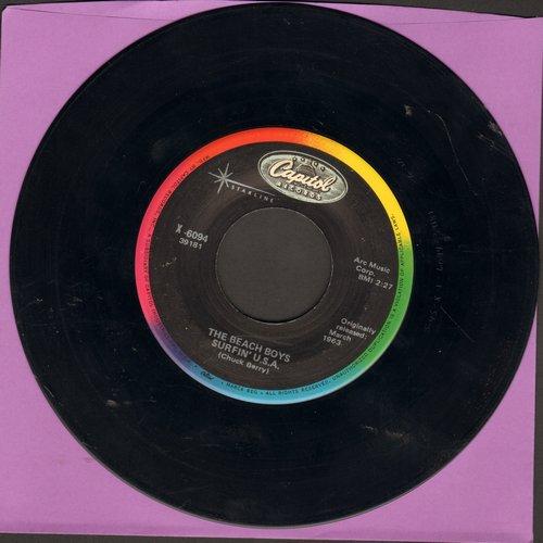 Beach Boys - Surfin' U.S.A./Shut Down (re-issue) - NM9/ - 45 rpm Records