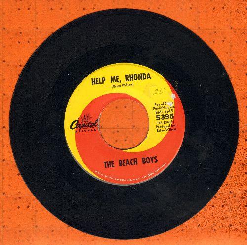 Beach Boys - Help Me, Rhonda/Kiss Me, Baby  - VG7/ - 45 rpm Records