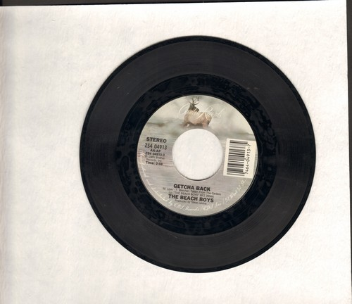 Beach Boys - Getcha Back/Male Ego  - NM9/ - 45 rpm Records