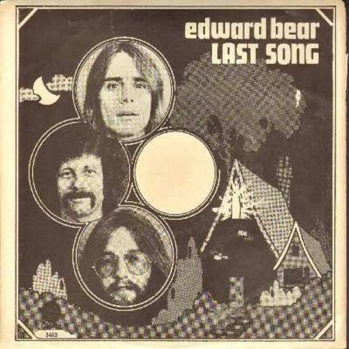 Bear, Edward - Last Song/Best Friend (with picture sleeve, song lyrics on back of sleeve) - NM9/VG7 - 45 rpm Records