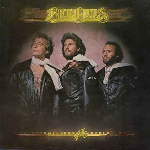 Bee Gees - Children Of The World: You Should Be Dancing, Boogie Child, Subway, Love Me, You Stepped Into My Life, Love So Right (vinyl LP record) - NM9/EX8 - LP Records
