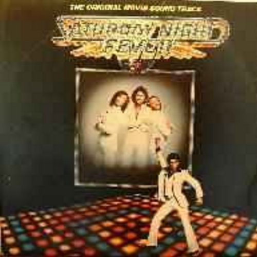 Bee Gees - Saturday Night Fever: Original Motion Picture Sound Track - The Best-Selling Sound Track Album of All Time! (2 vinyl LP record set, gate-fold cover) - VG7/VG7 - LP Records
