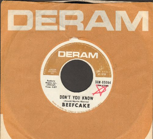 Beefcake - Don't You Know/There You Go Again (with RARE Deram company sleeve) - NM9/ - 45 rpm Records
