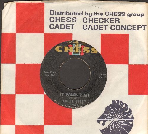 Berry, Chuck - It Wasn't Me/Welcome Back Pretty Baby (with company sleeve) - VG6/ - 45 rpm Records