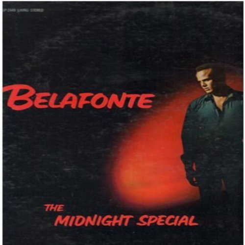 Belafonte, Harry - The Midnigt Special: Michael Row The Boat Ashore, On Top Of Old Smokey, Gotta Travel On (vinyl STEREO LP record) - NM9/EX8 - LP Records