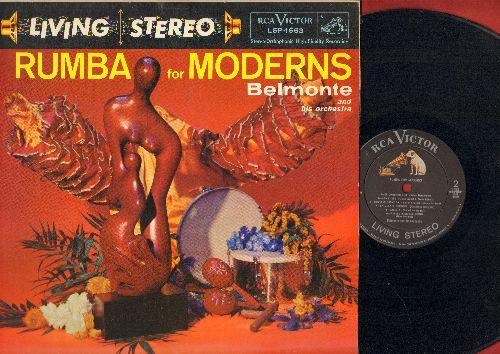Belmonte & His Orchestra - Rumba For Moderns: Linda Mujer, Peanut Vendor, Mama Inez, Rumba Rumbero (RARE 1958 STEREO pressing) (vinyl STEREO LP record) - NM9/EX8 - LP Records