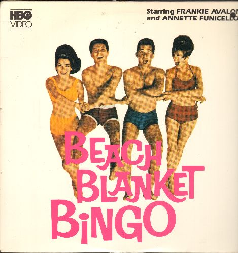 Beach Blanket Bingo - Beach Blanket Bingo - LASER DISC version of the Classic Frankie Avalon/Annette Funicello Beach Musical - NM9/EX8 - Laser Discs