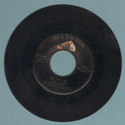 Belafonte, Harry - Mama Look At Bubu/Don't Ever Love Me  - EX8/ - 45 rpm Records
