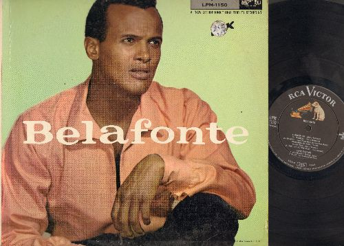 Belafonte, Harry - Belafonte: Water Boy, Troubles, Suzane, Maltida, Take My Mother Home, Noah, Scarler Ribbons, In That Great Getting' Up Mornin', Unchanied Melody, Jump Down, Sylvie (vinyl LP record) (soc) - EX8/VG7 - LP Records