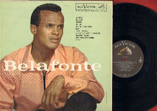 Belafonte, Harry - Belafonte: Water Boy, Troubles, Suzane, Maltida, Take My Mother Home, Noah, Scarler Ribbons, In That Great Getting' Up Mornin', Unchained Melody (vinyl MONO LP record, NICE condition!) - M10/EX8 - LP Records