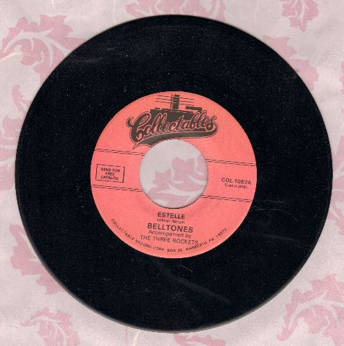 Belltones - Promise Love/Estelle (re-issue of vintage Doo-Wop recordings) - NM9/ - 45 rpm Records
