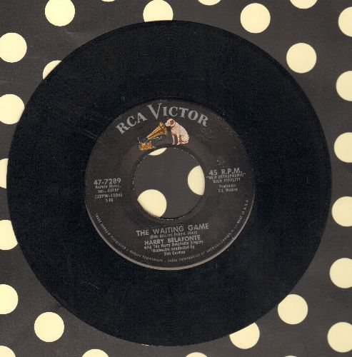 Belafonte, Harry - The Waiting Game/Ain't That Love - EX8/ - 45 rpm Records
